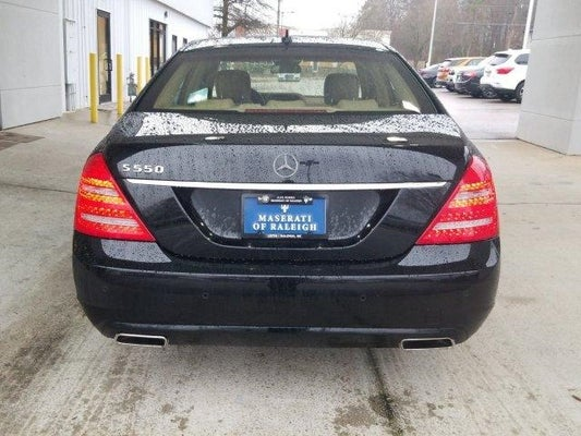 Mercedes For Sale >> 2012 Mercedes Benz S 550 4dr Sdn S 550 Rwd