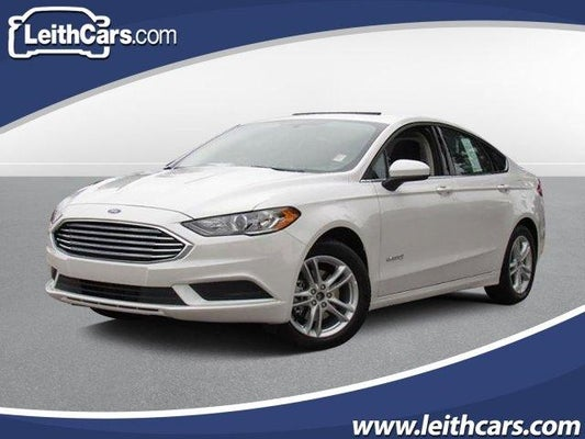 Ford Fusion Hybrid For Sale >> 2018 Ford Fusion Hybrid Se Fwd